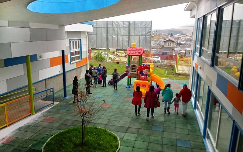 El establecimiento tiene capacidad para 192 niños y más de 1.600 metros cuadrados.