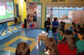 CNTV entrega nuevo material audiovisual educativo a jardines infantiles
