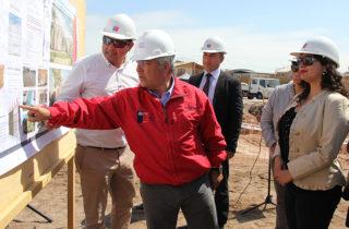 Realizan postura de primera piedra en nuevo jardín infantil de Alto Hospicio