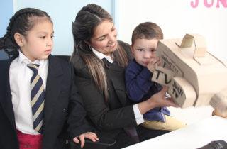 Párvulos, familias y comunidad educativa celebran los 48 años de la JUNJI