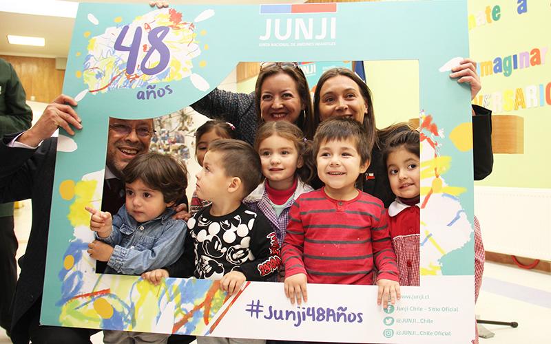 Con una serie de actividades, los jardines infantiles de la región están celebrando los 48 años de vida de la institución, destacando el servicio educativo entregado a los niños y niñas y la comunidad.