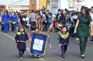 Jardines infantiles de la JUNJI Tarapacá participan en desfile de las Glorias Navales
