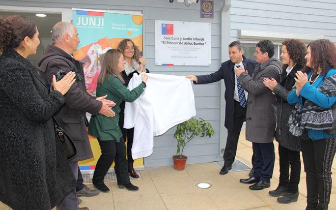 """La unidad educativa """"El Rinconcito de los Sueños"""" llega a cumplir el anhelo de los vecinos de contar con un establecimiento de educación parvularia en el sector."""