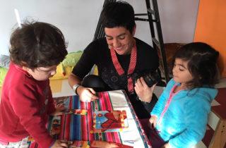 """Jardín Infantil """"Sietecolores"""" comienzan los talleres de """"Cinefábrica"""" 2018"""