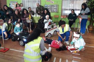 Se inician diálogos con familias para la prevención de accidentes